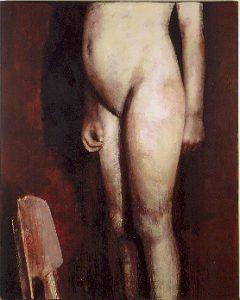Heike Ruschmeyer, Stiller 1-4, Kunstharz, Eitempera, Öl auf Spanplatte, 60x50 cm, 2001